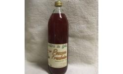 Jus de Pommes Framboises BIO. Cheval Blanc (84)